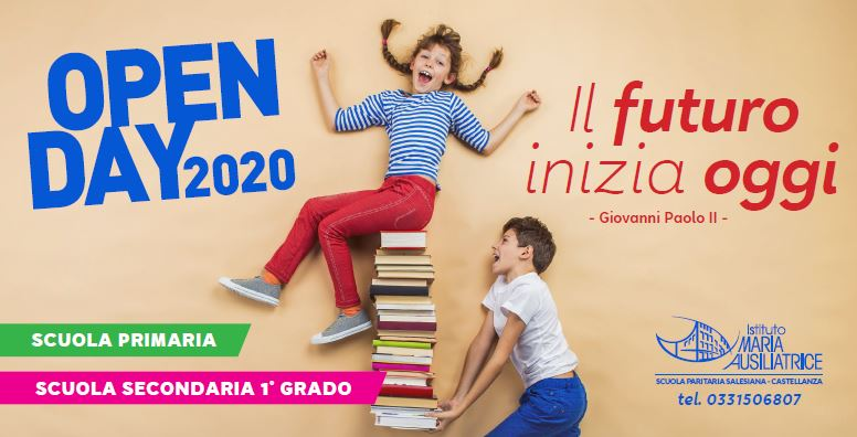 cartolina open fronte 2020-21